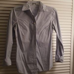 J. Crew long-sleeve pinstripe oxford shirt